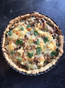 Kale & Onion Tart