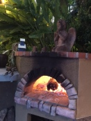 Uber hot pizza oven