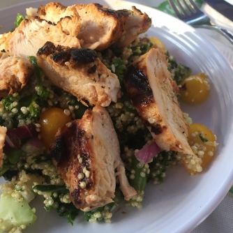 Quinoa & Lemon Grilled Chicken