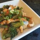 Orange Glazed Pork & Broccoli