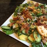Cantaloupe & Bacon Salad