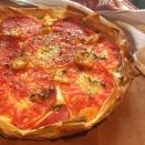 Tomato Feta Pie
