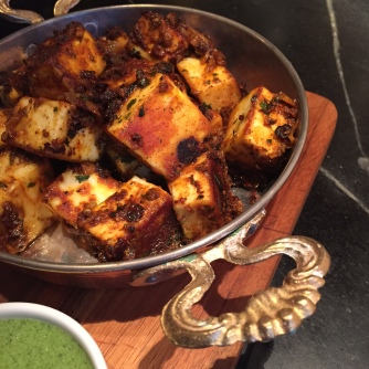 Spiced Paneer