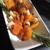 Pecan Stuffed Apricots