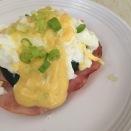 Glampers Eggs Benedict