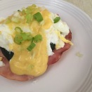 Glampers Eggs Benedict