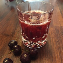 Cherry & Bourbon Smash