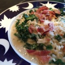 Kale & Bacon Risotto